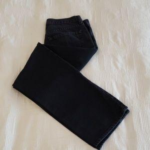 Men's Black Jean's from Old Navy.